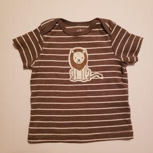 Child Of Mine Boy's Stripe Lion Tee